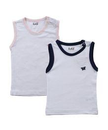 Lula Striped Unisex Baby Round Neck T-Shirt Pack of 2