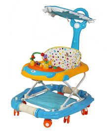Sunbaby Funtime Walker Cum Rocker - Blue
