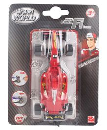 John World F1 Racers Car Toy - Red