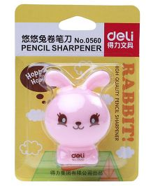 Deli Rabbit Shape Pencil Sharpener