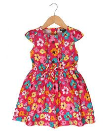 Sequences Floral Print Dress - Pink