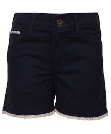 Bells and Whistles Shorts Solid Color - Black
