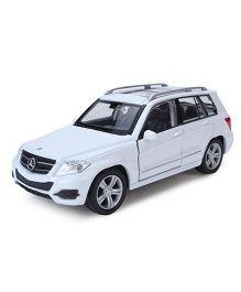 Welly Die Cast Metal Mercedes Benz GLK Toy Car - White