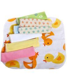Baby Wash Cloth - Multi color