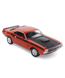 Welly 1970 Dodge Challenger Model Toy - Red