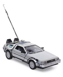 Welly Back To The Future DeLorean Time Machine Car Toy - Silver