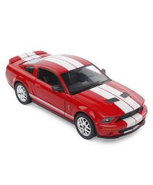 Welly 2007 Shelby Cobra GT 500 Model Car Toy - Red