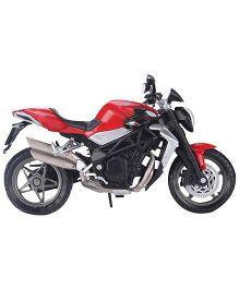 Welly MV Agusta Diecast Toy Bike - Black & Red