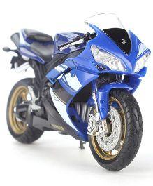 Welly Yamaha 2008 Model Bike Toy - Blue