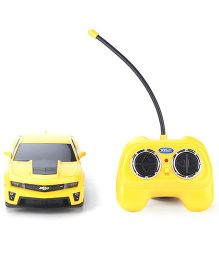 Welly Chevrolet Camaro Z L1 Remote Controlled Car Toy - Yellow