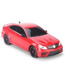 Welly Mercedes Benz C63 AMG Remote Controlled Car Toy - Red