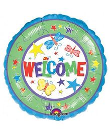 Planet Jashn Welcome Balloon - Multi Color