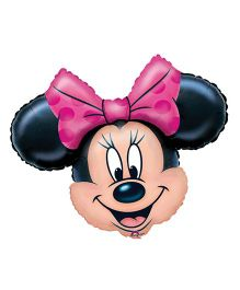 Planet Jashn Minnie Mouse Face Supershape Balloon
