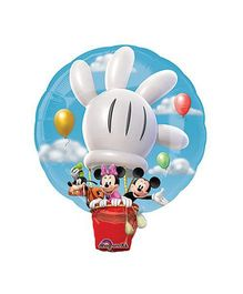 Planet Jashn Mickey Hot Air Balloon Supershape Balloon