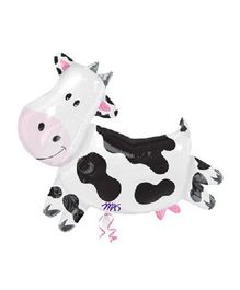 Planet Jashn Cow Supershape Balloon