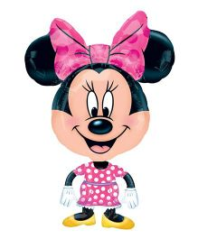 Planet Jashn Minnie Airwalker Balloon Buddies - Pink