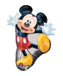 Planet Jashn Mickey Full Body Supershape Balloon - Multicolor