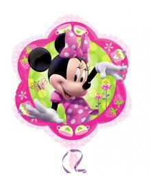 Planet Jashn Minnie Shape Foil Balloon - Pink And Green
