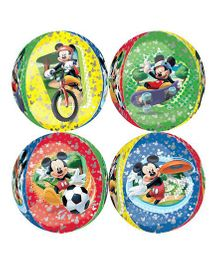 Planet Jashn Mickey Mouse Orbz Balloon - Multi Color