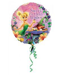 Planet Jashn Disney Tinker Bell Happy Birthday Wishes Balloon