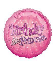 Planet Jashn Birthday Princess Balloon - Pink
