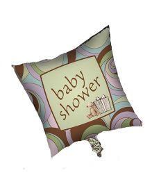 Planet Jashn Parenthood Baby Shower Square Foil Balloon