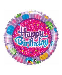 Planet Jashn Birthday Sprinkles & Sparkle Standard Foil Balloon