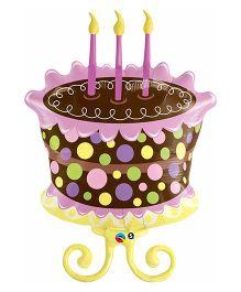 Planet Jashn Decorated Cake Supershape Balloon