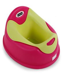 Babyhug Potty Chair - Dark Pink And Green