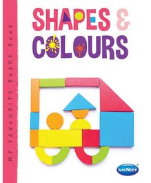 Navneet Vikas Board Book Shapes And Colours - 8 Pages