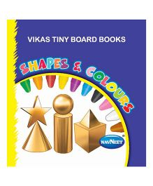 Tiny Board Book Shapes And Colours - English