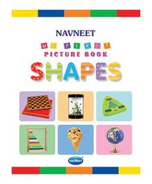 My First Picture Book Shapes Multicolor - English