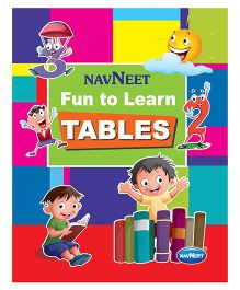 Fun With Learn Tables Book - English