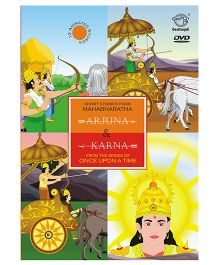 Karna and Arjuna Mahabaratha DVD - English
