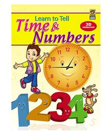 Learn To Tell Time And Numbers DVD - English