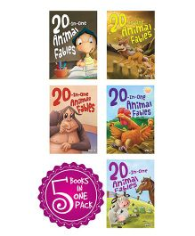 20 In One Animal Fables Set Of 5 Books - English
