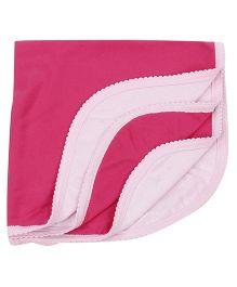 Tinycare Plain Bath Towel - Pink