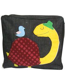 Nappy Monster MrTurtle Denim Storage Bag - Black