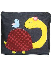 Nappy Monster MsTurtle Denim Storage Bag - Black
