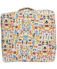 Nappy Monster Tribal Trunk Storage Bag - Multicolor
