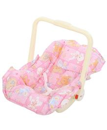 Infanto Baby Love Carry Rocker Puppy Print Pink - 045