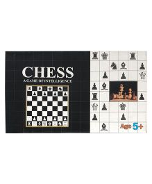Brands Chess Set Big - Black And White