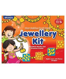 Brands Jewellery Kit Golden Beads - Multicolor