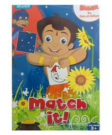 Brands Chhota Bheem Match It Puzzle - Multicolor