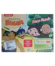Brands Chhota Bheem Face Mask - Multicolor