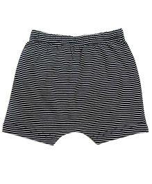 bio kid Pin Stripe Elasticated Shorts - Black