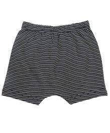 bio kid Pin Stripe Elasticated Shorts - Black