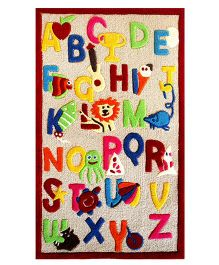 Little Looms Alphabets Rug - Multicolour