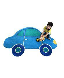 Little Looms Car Rug - Blue