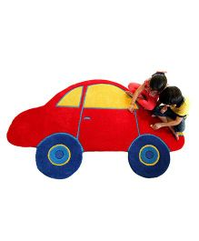 Little Looms Car Rug - Red
